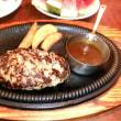 本日のディナーはEPARK15%引きクーポン利用でカウボーイ家族湯里店で。店内は快適な気温。すいかをいっぱい。キーウィはありませんでした。