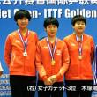 卓球 ジュニアサーキット中国大会