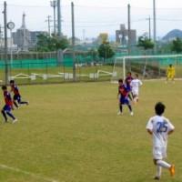 東海リーグ2部 長良クラブ vs FC川崎を観戦する。