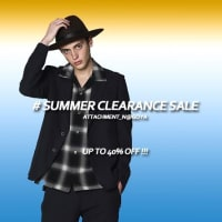 #SUMMER CLEARANCE SALE - UP TO 40% OFF