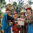 先住民スタイルの合同結婚式に日本人が初参加 満場の祝福受ける/台湾