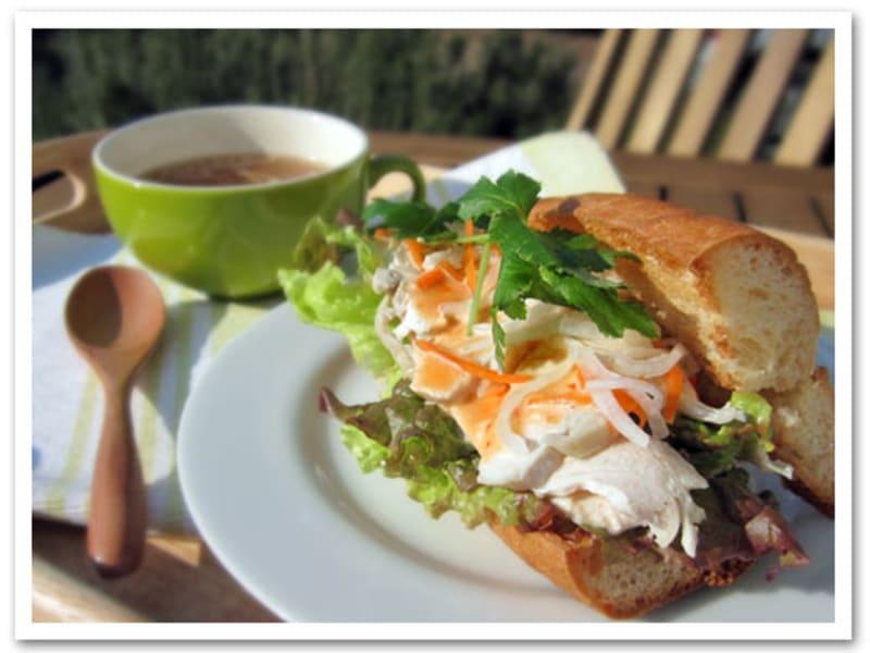 なますリメイク~ベトナム風サンドイッチ