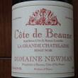 Cote de Beaune Rouge LA GRANDE CHATELAINE PINOT NOIR DOMAINE NEWMAN