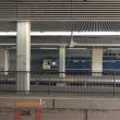 ピカピカのEF65ー1132 岡山駅のホームに登場