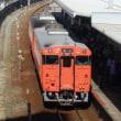 岡山の列車(キハ47普通列車)