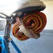 インフレ―ター スペアタイヤの手入れ そして完成