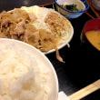 生姜焼き定食を頂きました。 at 串特急 神谷町店