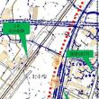 国道161号線バイパス工事と江若鉄道廃線跡
