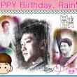 2018.06.25 Happy Birthday, RAIN ♥
