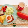 パン教室で作った「カレーフォカッチャ」で朝ごはん