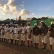 津山高校野球部創部120周年記念試合