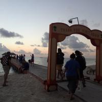 ジンベエと一瞬のスイムや上陸の3日目@モルディブ
