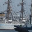 神戸港開港150年イベント= セイル・ドリル