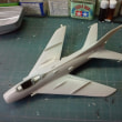 KP 1/72 Mig-19 を、作る(その21)