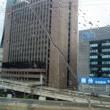 新幹線の車窓(アゥェイ戦のプチ旅行記)