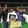 手島海咲選手が技能賞に輝きました