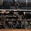 蒸気機関車の車輪に魅せられて