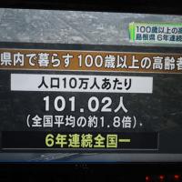 島根県の100歳老人