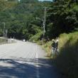 しんちゃんの山間の地元4町会の人達が出て、県道の草刈掃除のボランティア・・・