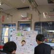 静岡鉄道「ちびまる子ラッピング電車」 さくらももこさんへ感謝の寄せ書き(2018年9月)