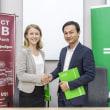 GrabとImpact Hub、カンボジアの起業家支援で提携。