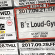 B'z Loud-Gym  2017.9.21@Music Club JANUS