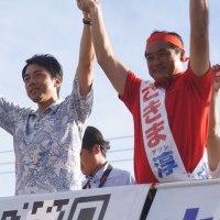 沖縄県知事選、安倍政権がバックにいればこんな選挙戦も許されるのか! 自公・佐喜真陣営のやり方がヒドイ!