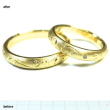 結婚指輪はオーダメイドがオススメです。