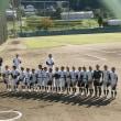 毎日大会1日目VS飯倉少年野球クラブ(原の前)