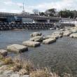 京都・高野川と鴨川が合流する鴨川デルタ
