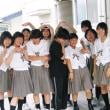 津山商業演劇部元部長の毒吐きりんごさんの作品「明日への勇気」が岡山地区の実験劇場で上演されました・
