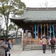 どんど焼き 松戸神社
