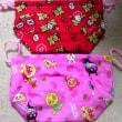 幼稚園用のチクチク2 お弁当袋・縄跳び袋・雑巾
