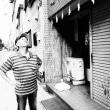 異国情緒あふれる港町  B級横浜散策(356)  真夏のモノクロ写真