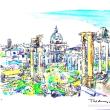 ローマ.世界わがスケッチの旅.イタリア