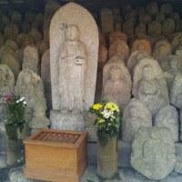 蓮華寺の石仏群