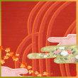 風呂敷(430)黄葉う(もみたう)