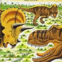 恐竜トリケラトプスはじめてのたたかい