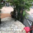 軽井沢のカフェから