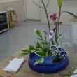 生け花教室(5種類の花材を使って)
