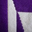 4枚綜絖で織った風通織りタペストリー