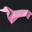 動物の折紙。