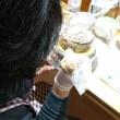 フラワーケーキ バタークリーム アドバンストコース3回目(H.Uさん)
