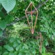 燕市のハセテックさんのmeteori(メテオリ)を使って 初めて ヒンメリを作ってみました