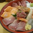 沼津港でスケッチと海鮮丼