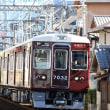 阪急宝塚線の朝ラッシュを撮影~石橋付近にて_18/07/09