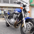 YAMAHA XJR400R BLUE FACTORY COLOR (4HM)