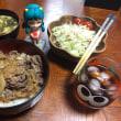 娘の家の晩ご飯…