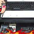 ノートパソコンに外付けキーボード