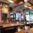 ART&CAFE WARE HOUSE COFFEE   厚切りベーコンと茄子とモッツァレラの トマトソーススパゲティ